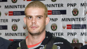 Joran van der Sloot sued attorney Luz Marina Romero Chinchay earlier this month.