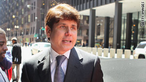 Former Illinois Gov. Rod Blagojevich did not testify in his own defense at his corruption trial.