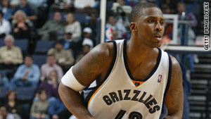 Lorenzen Wright played for the Memphis Grizzlies in 2004. His death has been ruled a homicide by gunshot.