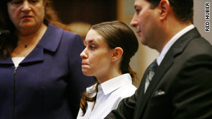 Casey Anthony, shown in court in January, is charged with capital murder in the death of her 2-year-old daughter Caylee.