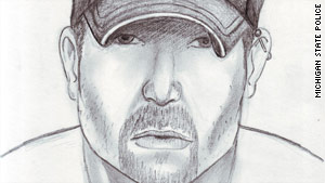 Michigan State Police recently released a composite sketch of a suspect in the stabbings, which began in May.