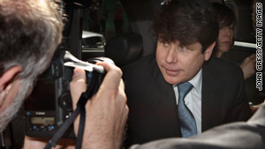 Former Illinois Gov. Rod Blagojevich was removed from office in January 2009.