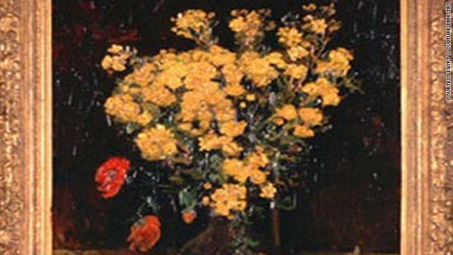 """Poppy Flower,"" painted by Vincent Van Gogh, has an estimated value of about $50 million."
