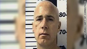 Authorities say Douglas Alward had broken out of prison three times before his latest escape.