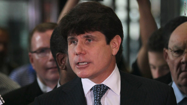 Former Illinois Gov. Rod Blagojevich was found guilty of one count of lying to the FBI.