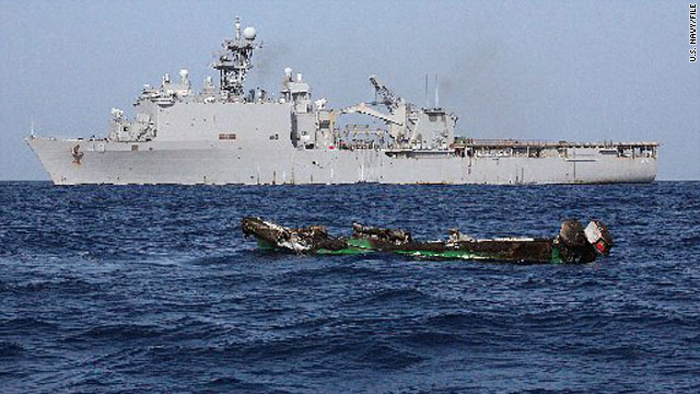 Jama Idle Ibrahim pleaded guilty to attacking the U.S. Navy dock landing ship USS Ashland with five other would-be pirates.
