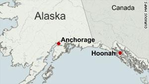 Huna Alaska Map.Suspect In Slaying Of 2 Alaska Police Officers Surrenders Cnn Com