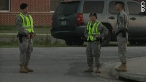 A gunman reportedly was taken into custody early Monday at Fort Stewart, Georgia, ending the hostage situation.