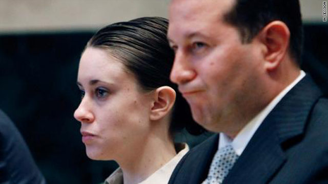 Casey Anthony, shown in court with lead defense attorney Jose Baez, now has six lawyers on her defense team.