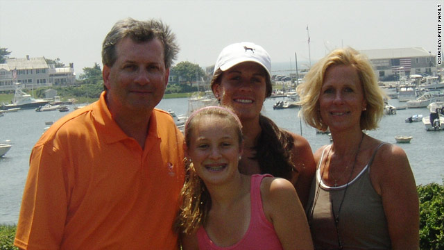 Dr. William Petit, shown with wife Jennifer Hawke-Petit and daughters, Michaela and Hayley, was the only survivor.