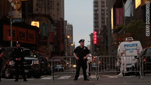 Police are on alert the morning after the May 1 car bombing attempt in New York's Times Square.