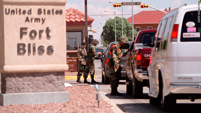 "The FBI described the shootings at Fort Bliss, Texas, as ""an isolated criminal incident and not terrorism-related."""