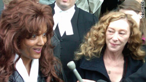 Terri-Jean Bedford, left,  Valerie Scott and another sex worker sued to overturn Canada's prostitution laws.