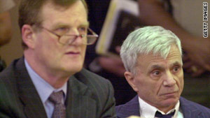 Attorney Harland Braun is shown in court with former client Robert Blake.