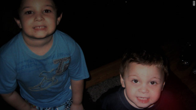 A search is under way for Jacob and Justin Quinones, who authorities say, were abducted from their apartment complex on Thursday.