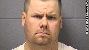 Brian E. Dorian, 37, of Crete, Illinois, is suspected of killing one man and wounding three others in a shooting rampage.
