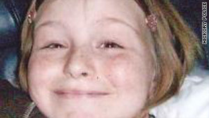Zahra Clare Baker, 10, of Hickory, North Carolina, was reported missing on Saturday.