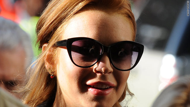 Actress Lindsay Lohan entered the Betty Ford Center in Rancho Mirage, California, last month.