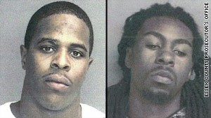 Marquise Foster, left, and Alrashim Chambers are charged with murder in the death of Victoria White.