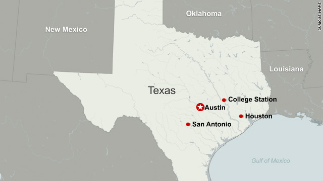 Map Of Texas Am.Replica Weapon Behind Texas A M Scare Cnn Com