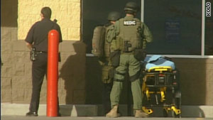 A company spokesman says the gunman is a Walmart employee.