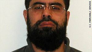Farooque Ahmed, 34, is accused in an alleged plot to carry out terrorist bombings of Washington Metro stations.
