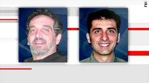 Brothers George Silah, left, and John Silah were sought for allegedly abducting their three sons in July 2008.