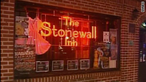 Two men are accused of attacking a man in the restroom at The Stonewall Inn in Manhattan.