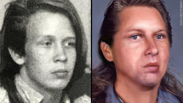 Sam Rawls, left, disappeared in 1988. An age progression photo shows how he might look now.