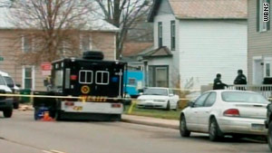 Sarah Maynard, 13, was found bound and gagged in the basement of a Mount Vernon, Ohio, home on Sunday.