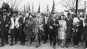 The case is cited as a fuse for the Selma-Montgomery march led by civil rights luminaries such as Martin Luther King Jr.