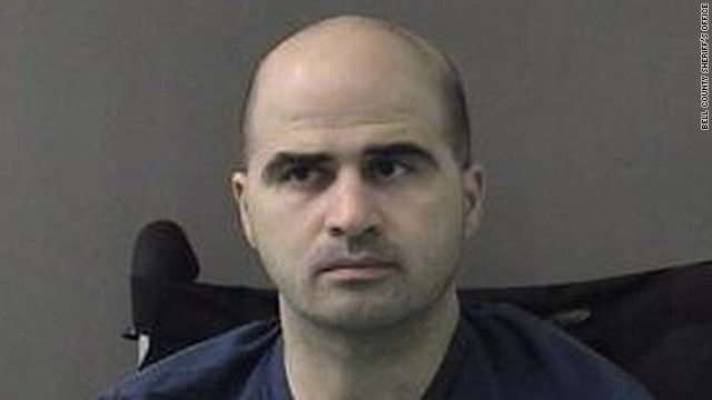 Maj. Nidal Hasan is accused of the November 5, 2009, shootings, in which 13 people were killed.