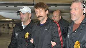 Viktor Bout, a Russian citizen and former Soviet military officer, was extradited from Thailand to New York this week.