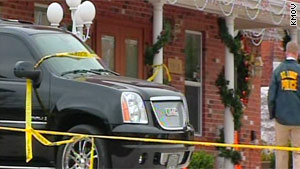 Two men were killed in a shooting outside Reliable Funeral Home in St. Louis, Missouri.