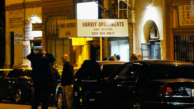 The Harvey Apartments, a four-story former hotel, draws a diverse group because of its cheap rent.
