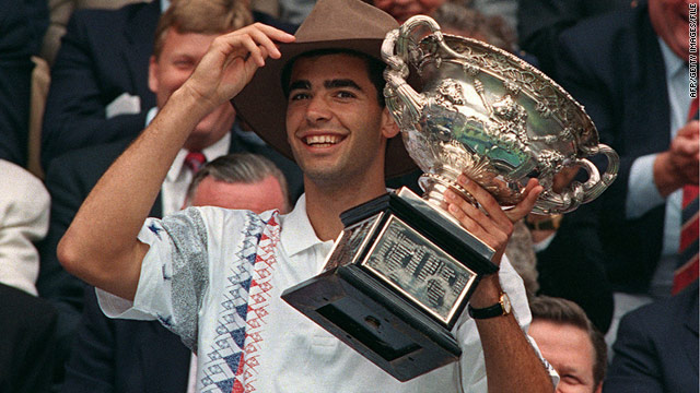 "Police say 51 of Pete Sampras' championship trophies were stolen from a ""very highly secure"" storage facility in Los Angeles."