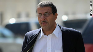 Mohammed Zazi, the father of terror suspect Najibullah Zazi, arrives at federal court in October 2009.