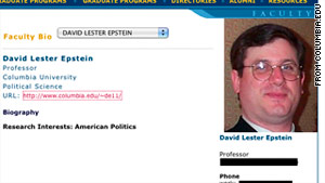 David Epstein is charged with one count of incest according to the ...