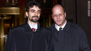 Sergey Aleynikov, left, was convicted of theft of trade secrets and transporting stolen property.