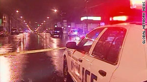 The Vancouver Police Department took an undetermined number of people into custody Sunday morning.