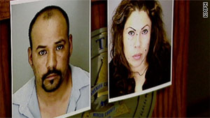 Jose Augustine Velarde and his wife, Teresa Ceja Robles, have been accused of murder and kidnapping.