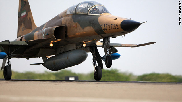 "The Northrop F-5 is used by the Navy and Marines as a stand-in for ""aggressor"" fighters in training exercises."