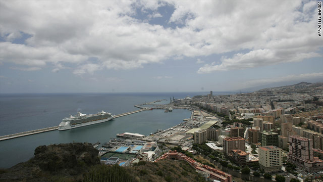 A view across the island of Tenerife, where a fraud scheme targeting German owners of timeshare properties took place.