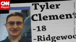 Tyler Clementi's body was recovered from the Hudson River in September, more than a week after he committed suicide.