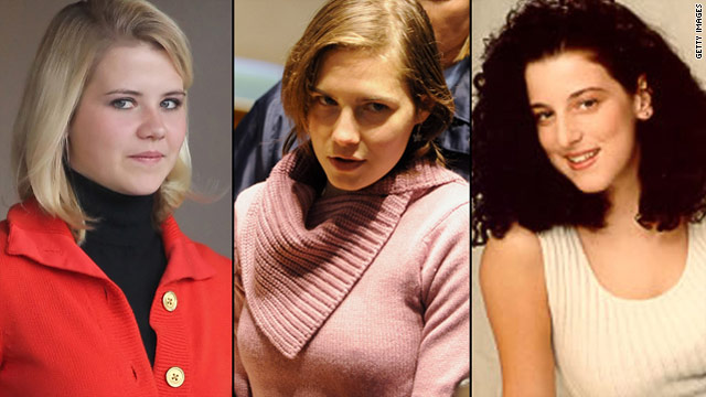 Elizabeth Smart, Amanda Knox and Chandra Levy were all prominent names in the media this year.