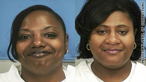 Gladys and Jamie Scott were released from a Mississippi prison Friday.