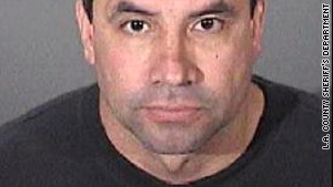 Gregory Sanchez, 46, of West Covina, California, was charged with the bank robbery.