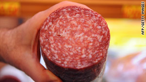 On Saturday, 18 different Daniele Italian deli products -- 1.2 million pounds of salami -- were recalled.