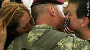 Adolescents cope better if they think that their deployed parents are doing something good for the country.