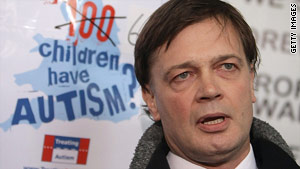 Dr. Andrew Wakefield acted unethically in conducting autism research, a British panel found.